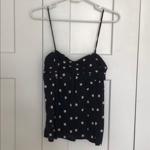 J. Crew Tops - Jcrew Polka Dot Tank